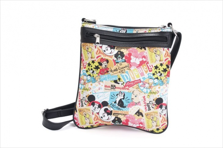 mickeymouse print disney bag