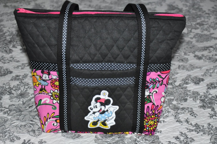 fabric disney handbag idea
