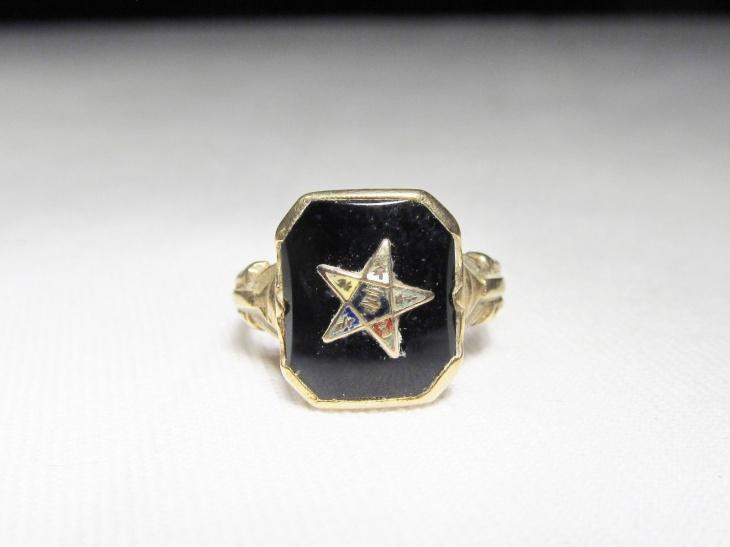 Vintage Star Ring Model