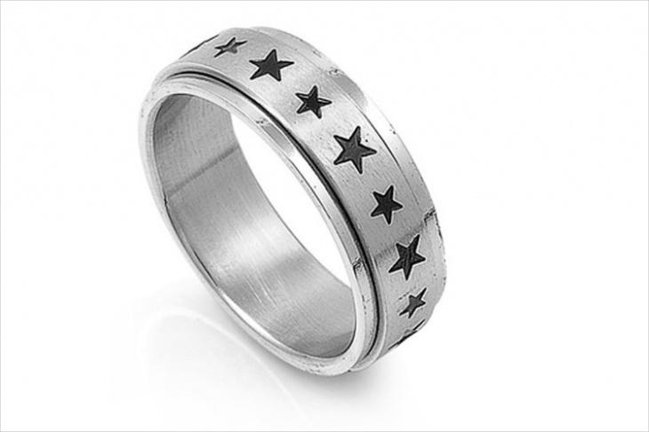 Star Ring for Men