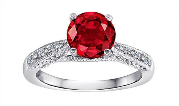 Star Ruby Ring Design
