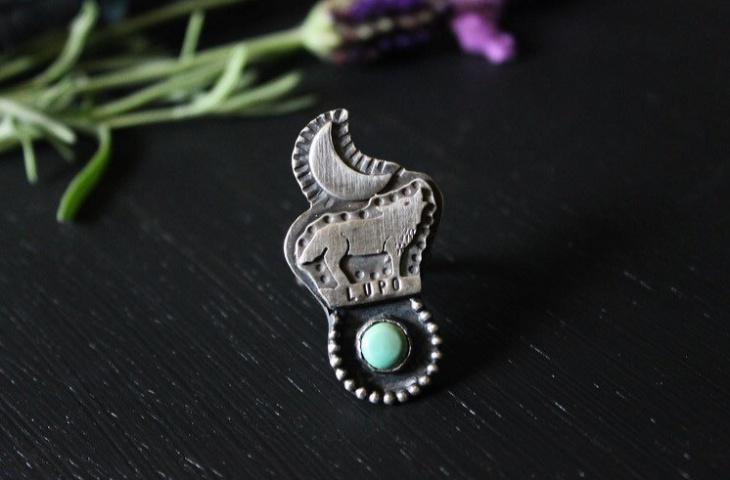 Wolf Spirit Ring