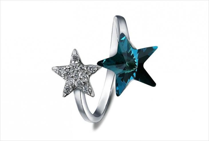 Pretty Star Ring Design