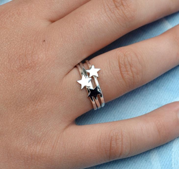Little Stars Ring Design