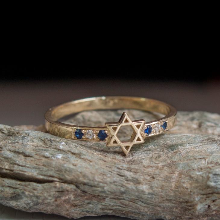 Elegant Star Ring for Wedding