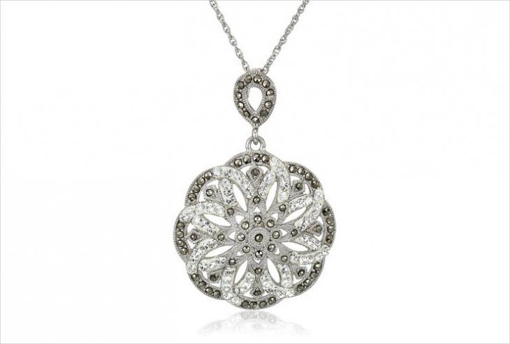 silver marcasite jewelry