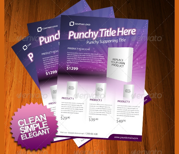 20+ Product Flyer Templates - Printable Psd, Ai, Vector Eps Format
