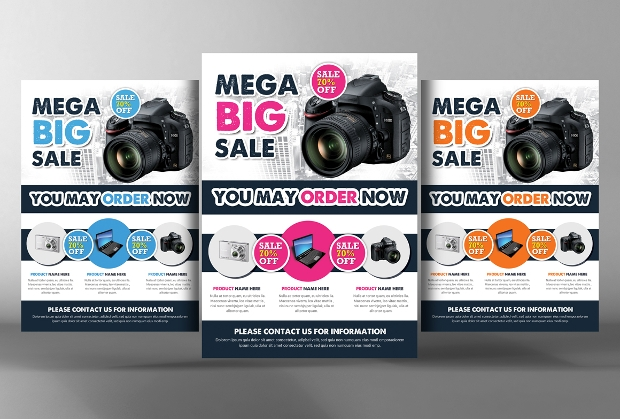 Photoshop PSD Product Flyer