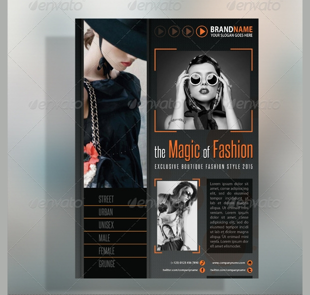 Fashion Product Flyer Design