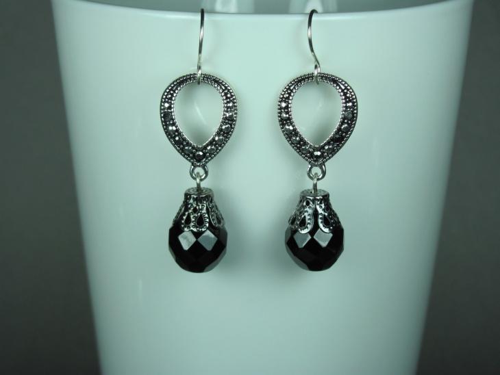 marcasite wedding earrings idea