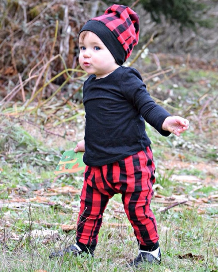 Plaid Outfit for Kids