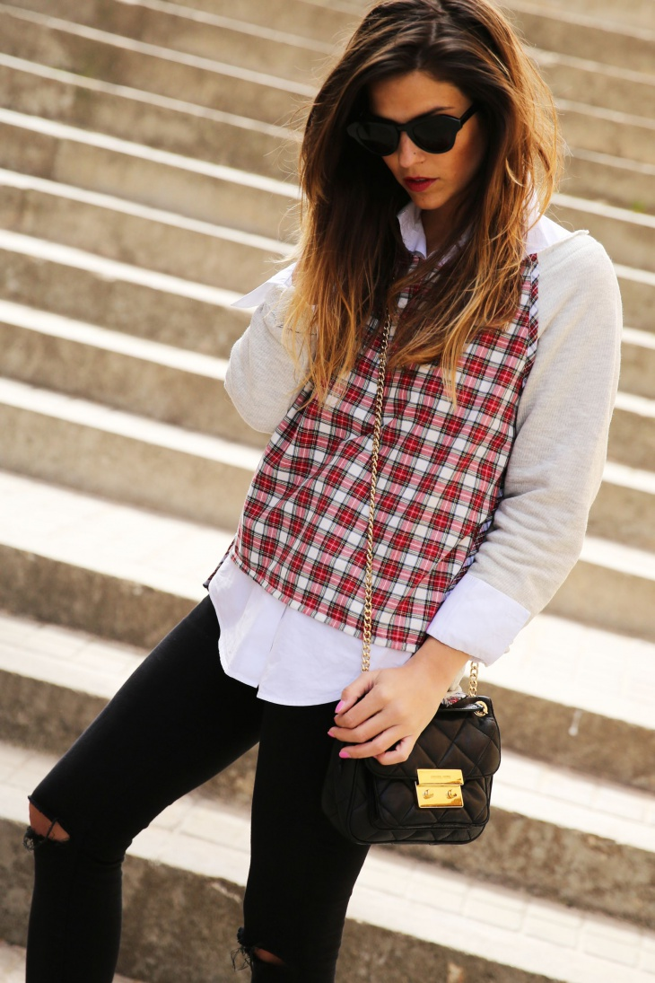 Stylish Plaid Outfit