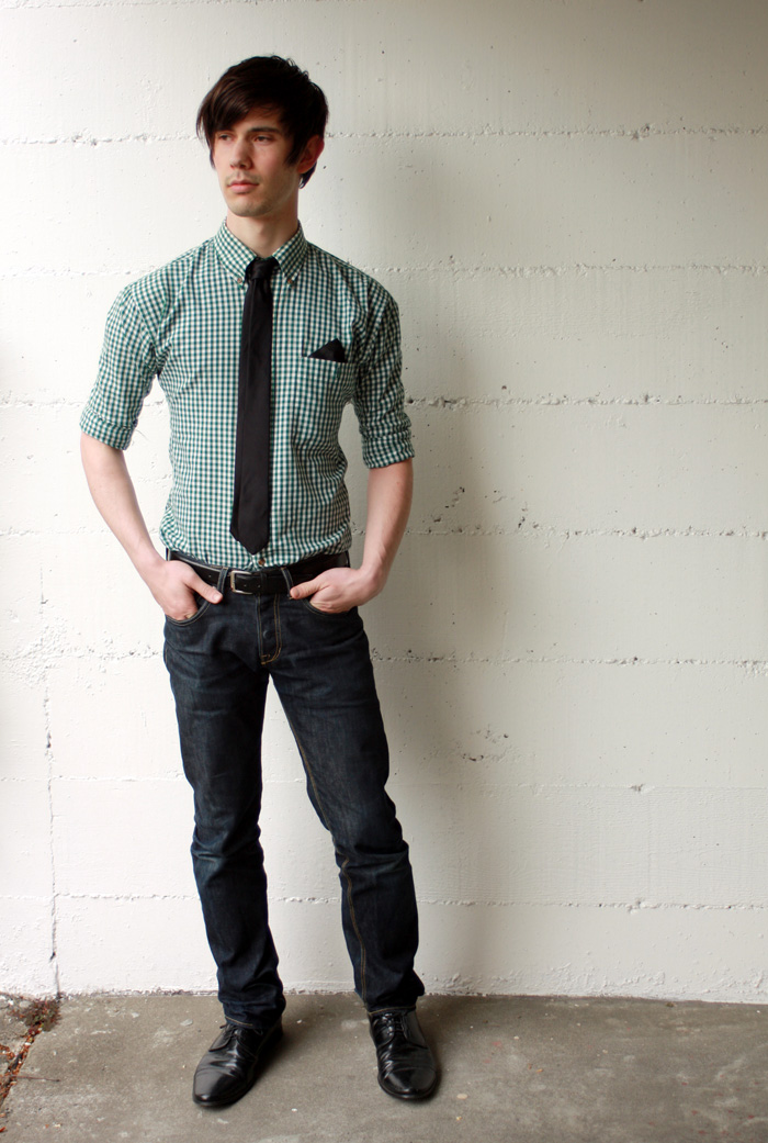 Plaid Outfit for Men