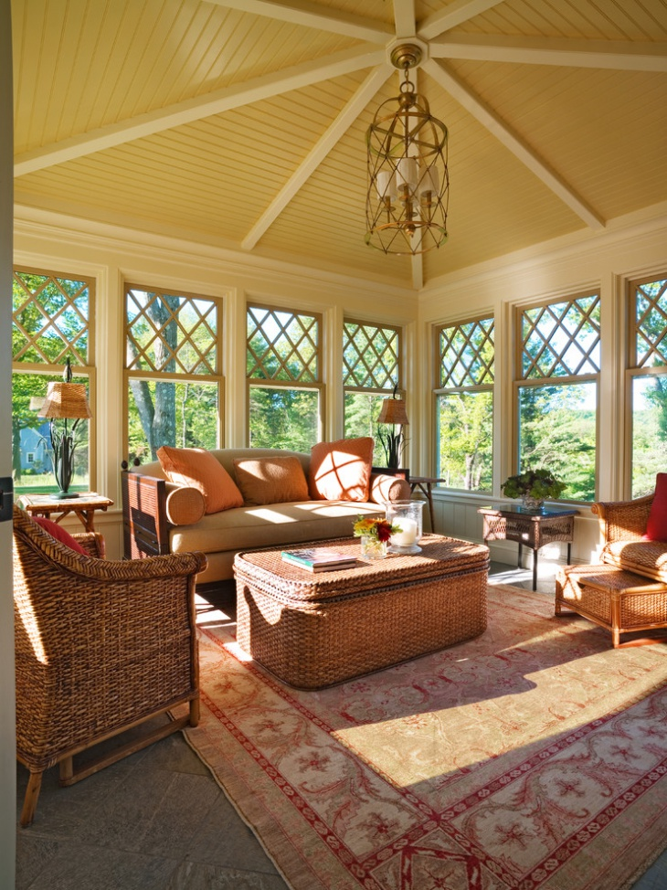 18 sunroom ceiling designs ideas design trends for Victorian sunroom designs