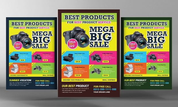 20 Product Flyer Templates Printable PSD AI Vector EPS Format – Product Flyer Template
