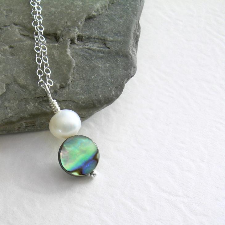 White Pearl Pendant Idea
