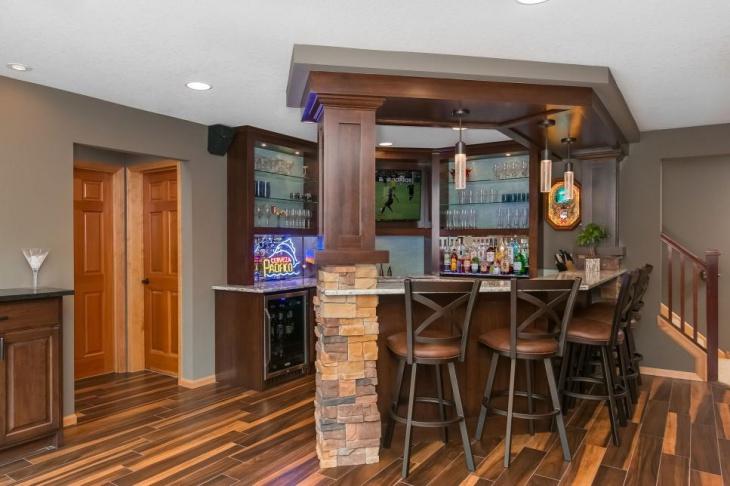 18+ Small Home Bar Designs, Ideas | Design Trends ...