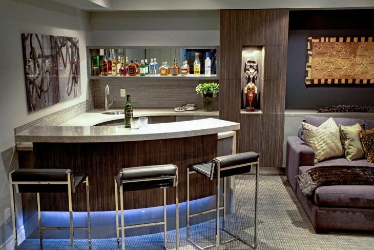 mini home bar design