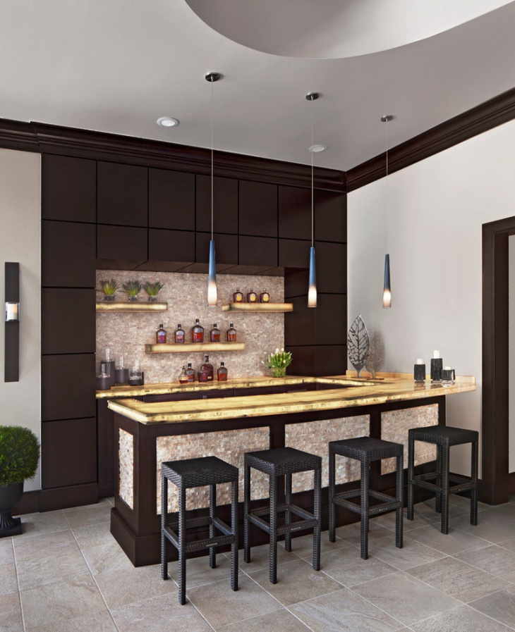 Custom Bars For Homes: 18+ Small Home Bar Designs, Ideas
