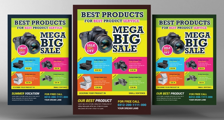 20 Product Flyer Templates Printable Psd Ai Vector Eps Format