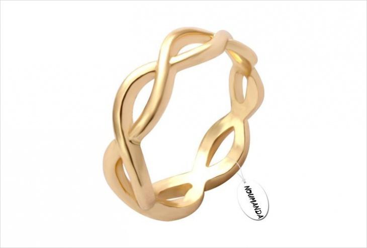 Infinite Loop Ring Idea