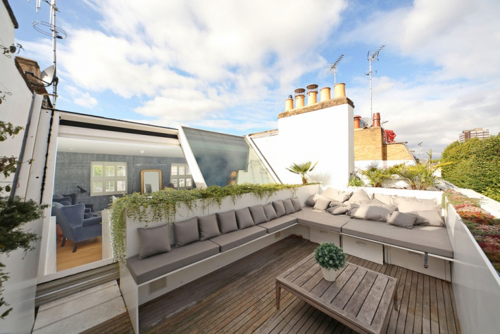 Modern Rooftop Terrace Design