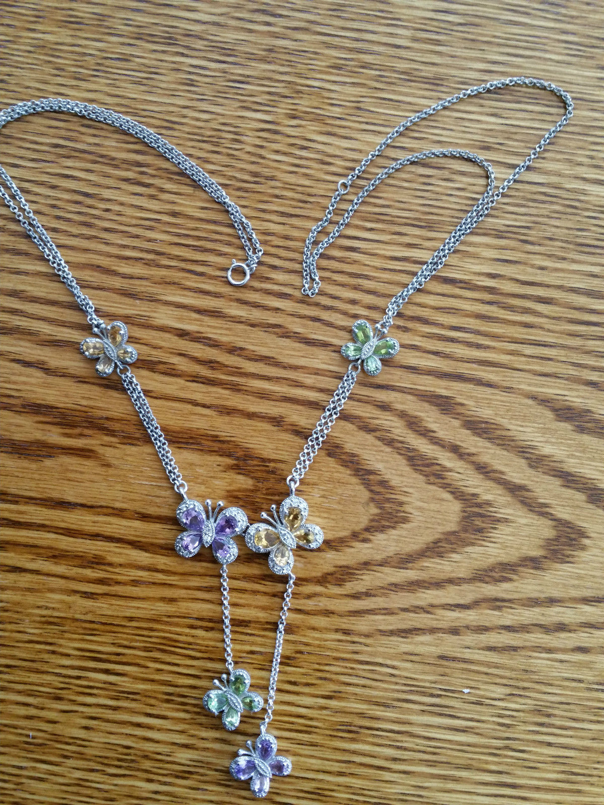 Beautiful Butterfly Necklace Design