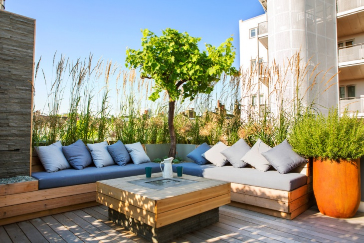 Decorative Rooftop Terrace