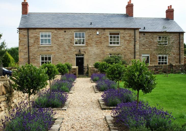17 lavender garden designs ideas design trends for Vorgartengestaltung design