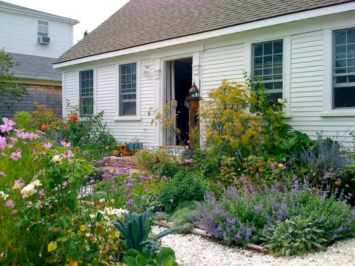 cottage lavender garden