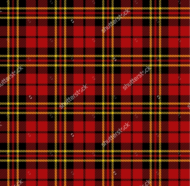 Red Tartan Seamless Patterns