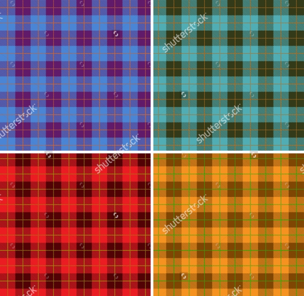 Colorful Tartan Patterns