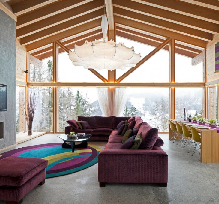 17+ Chalet Living Room Designs, Ideas | Design Trends ...
