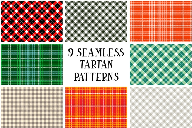 High Quality Seamless Tartan Pattern