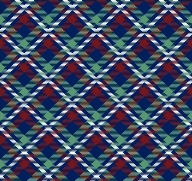 Tartan Fabric Pattern