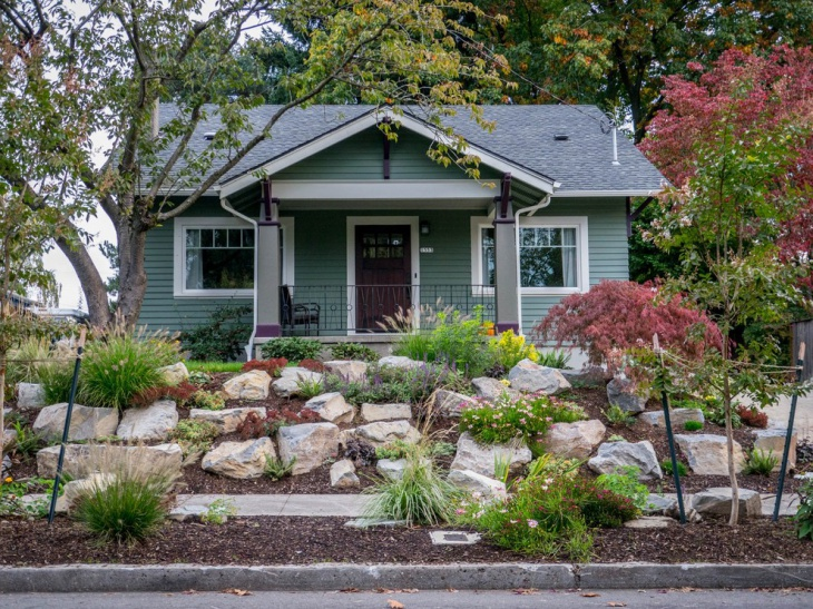 Rock Garden Front Yard Landscaping : Front yard landscaping designs ideas design trends