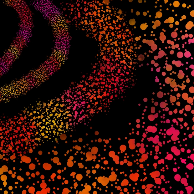 scattered dot photoshop brushes