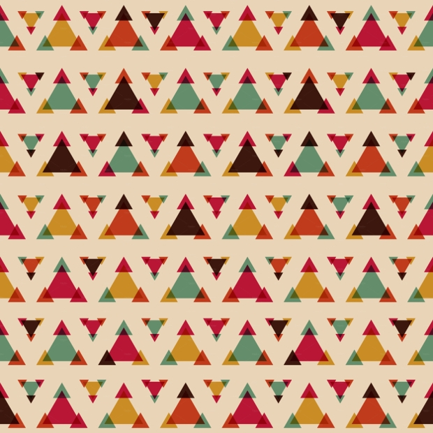 Seamless Triangle PS Patterns