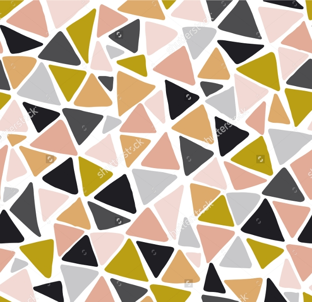Triangle Pieces Seamless Pattern