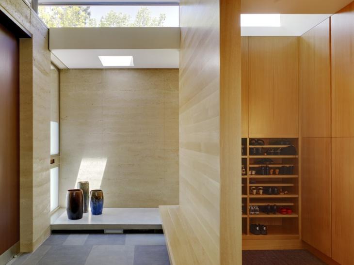 small modern hallway idea