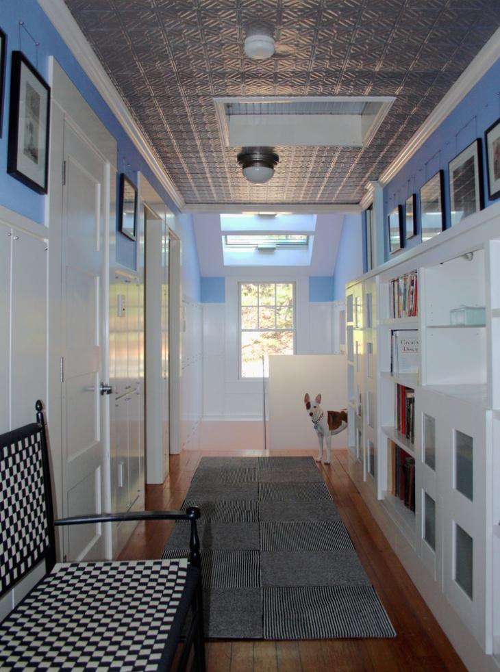 modern victorian hallway