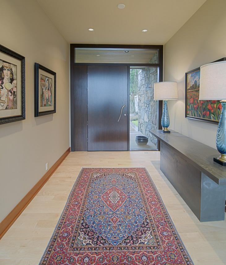 modern entrance hallway