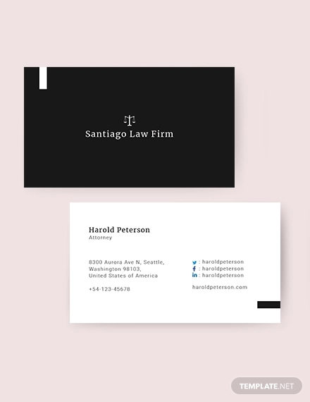 attorney business card1