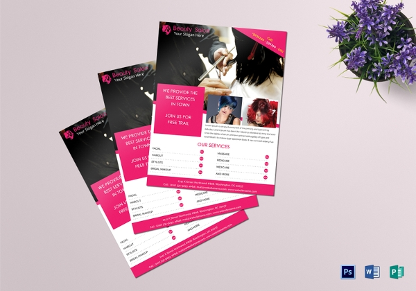 Beauty Salon Flyer Design
