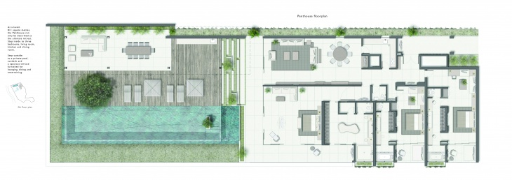 24 Penthouse Floor Plan
