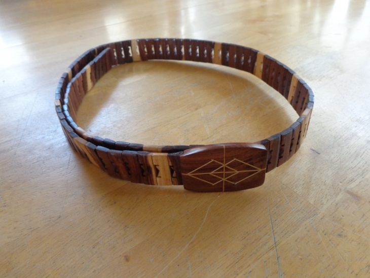 Classic Wooden Belt