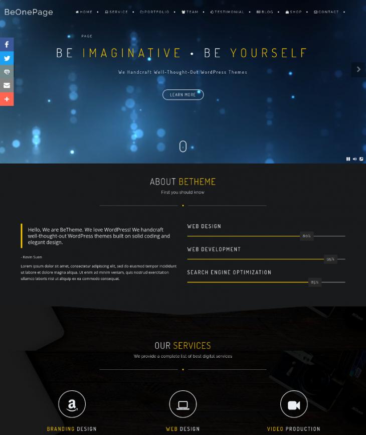 Free Musician Event WordPress Theme