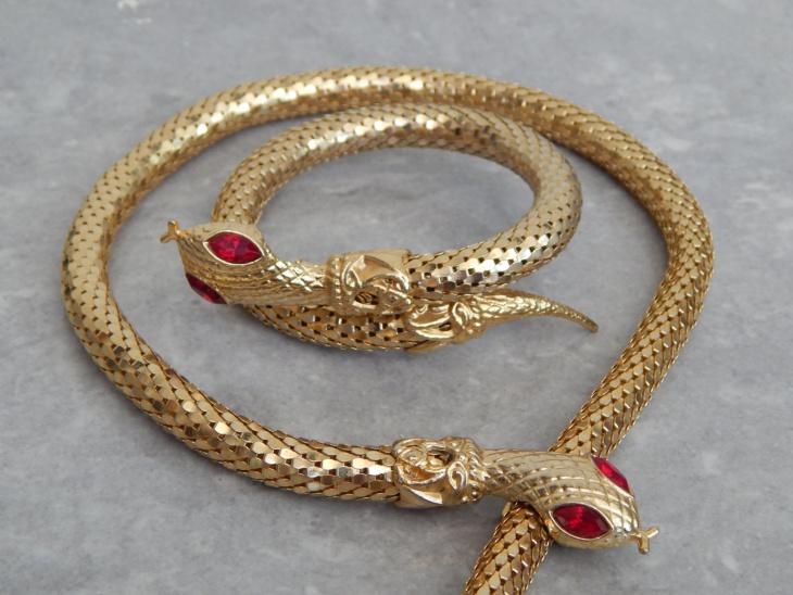 Vintage Snake Jewelry Design