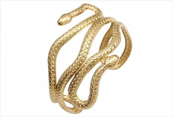 Cleopatra Snake Jewelry
