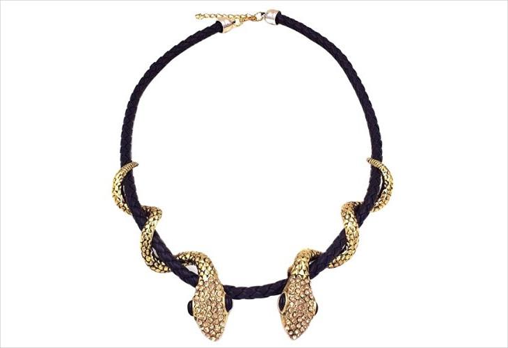 Unique Snake Necklace Design